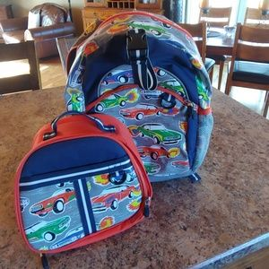 Backpack and lunch box set